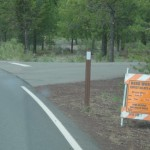 roadwork notice during June 2010 Sunriver Roadwork