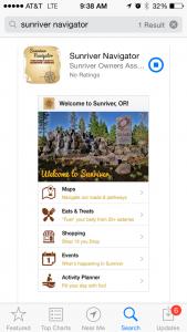 Sunriver Navigator App Info